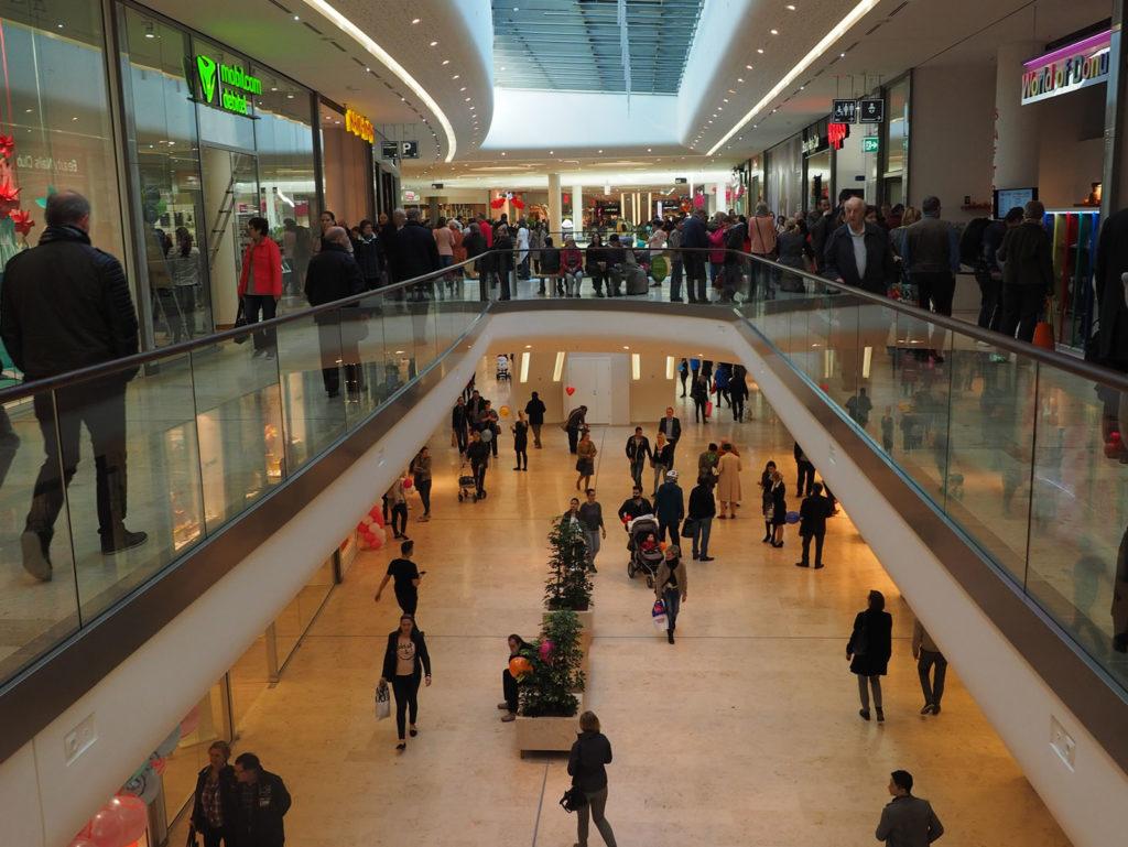 Kameraovervåking for kjøpesenter