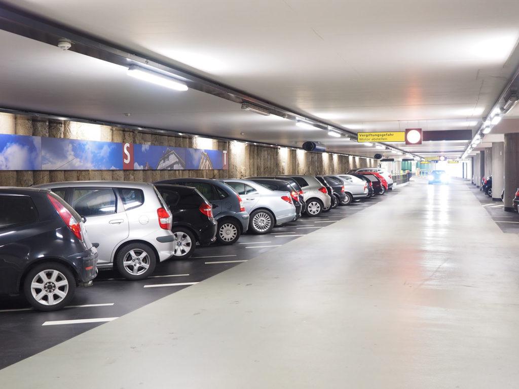 Kameraovervåking for parkeringshus